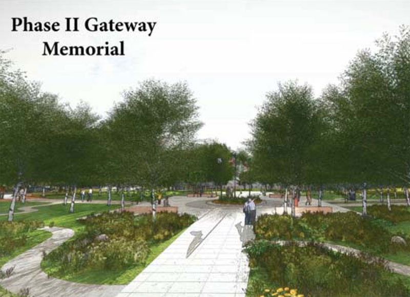 Phase 2 gateway memorial